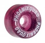 Kolečka na trekové brusle Phoenix Pink