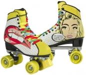 Trekové brusle Playlife Quads Pop Art Blondie