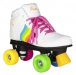 Trekové brusle Rookie Forever Rainbow V2 White Multi